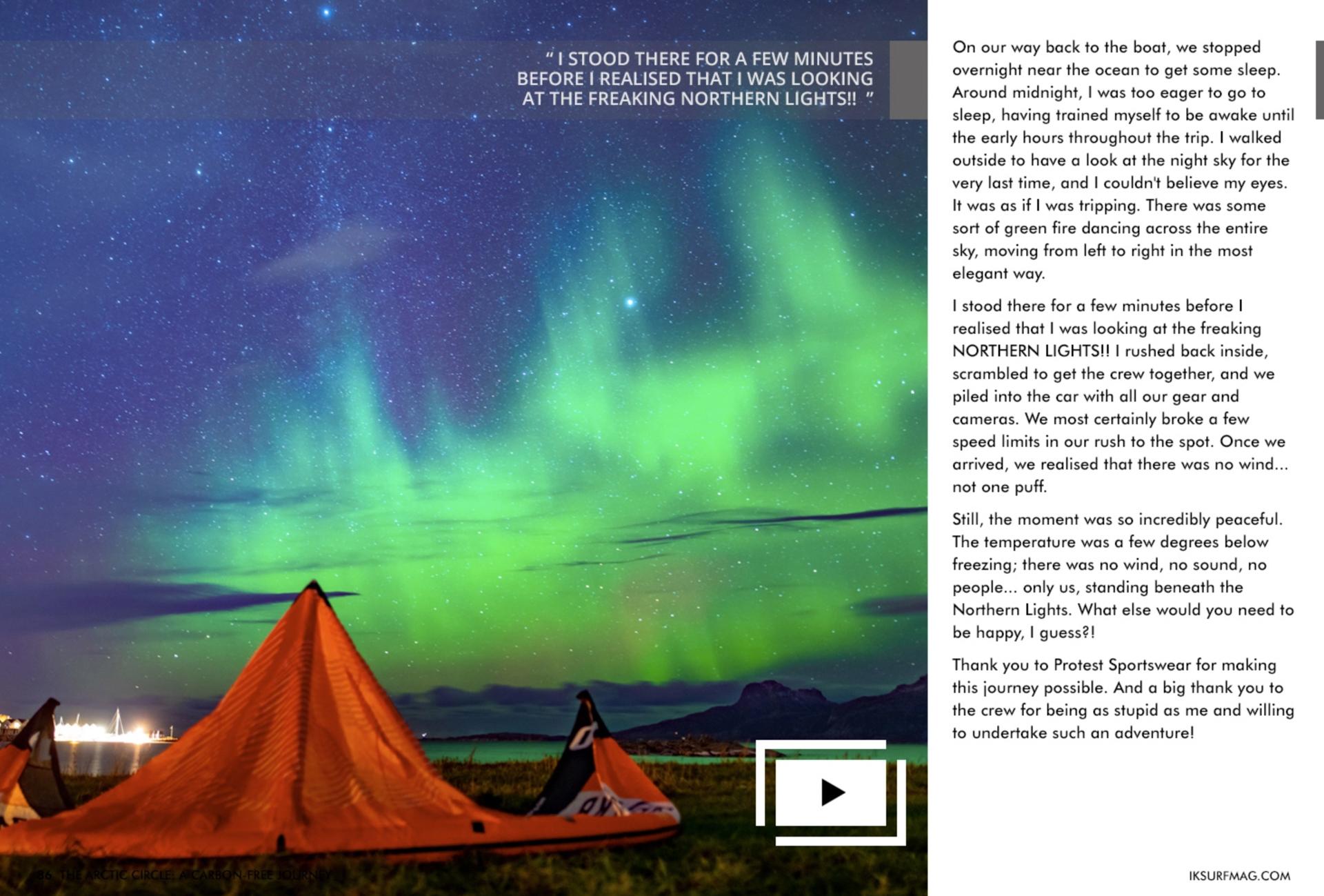 CO2 neutraal naar Noorwegen kitesurfen Rein Rijke Roderick Pijls Zout Fotografie