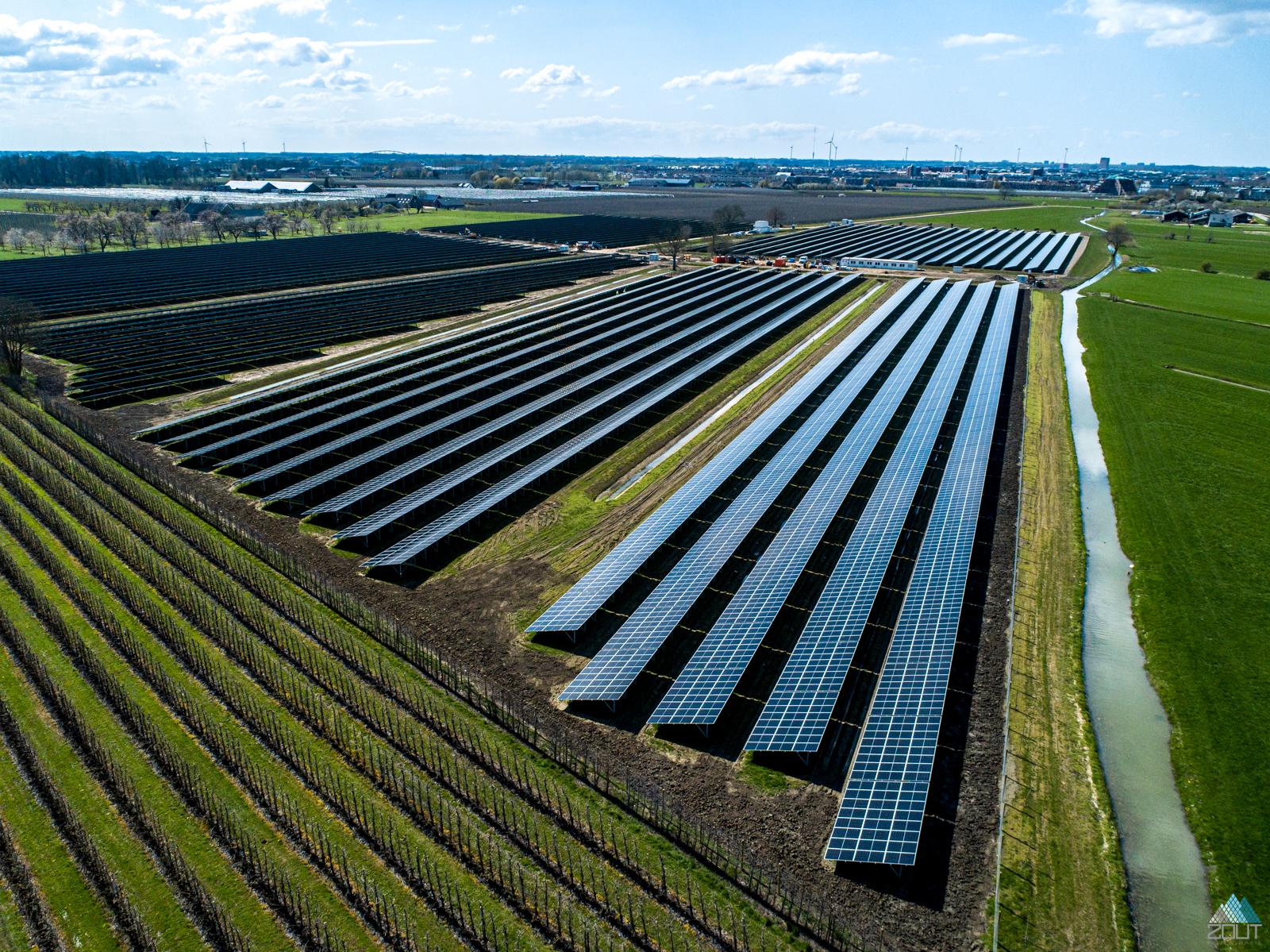 zonnepanelenpark 't Goy - Zonnevelden Houten