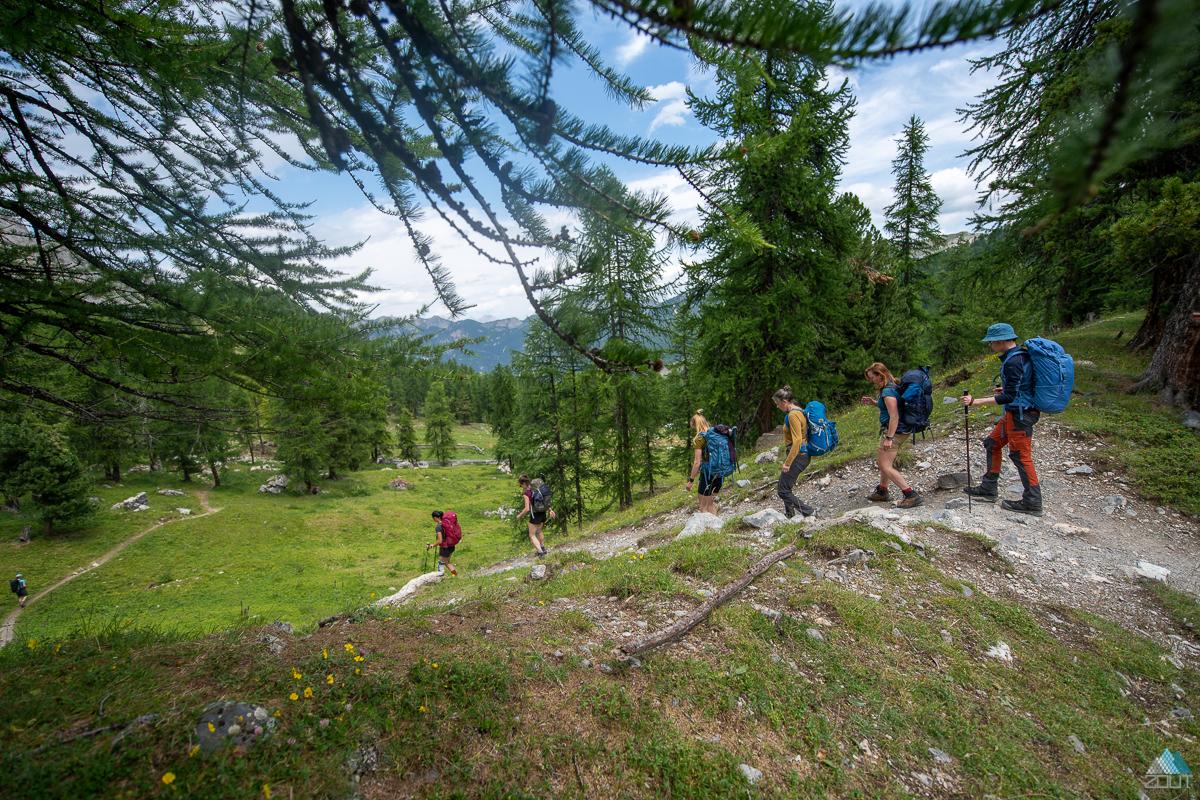 foto's NKBV Huttentocht Parc Natural Regional du Queyras Zout Fotografie